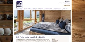 Referenz Webdesign Interlaken: BnB Wyler, Brienz
