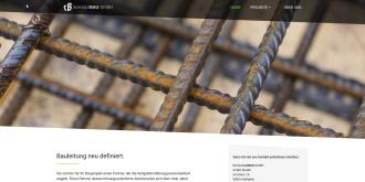 Referenz Webdesign Interlaken: Konzeptbau GmbH Interlaken