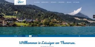 Referenz Webdesign Interlaken: Hotel Kreuz Leissigen am Thunersee