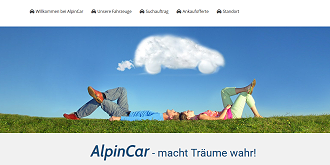 Referenz Webdesign Interlaken: www.alpincar.ch