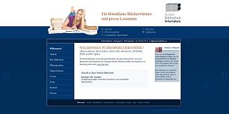 Referenz Webdesign netfuchs gmbh Interlaken: www.boedeli-bibliothek.ch