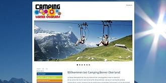 Referenz responsive webdesign netfuchs gmbh, Interlaken: www.campingberneroberland.ch