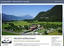 Referenz Webdesign netfuchs gmbh: Camping Hobby, Unterseen-Interlaken