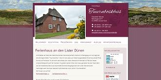Referenz responsive Webdesign netfuchs gmbh, Interlaken: www.ferienhaus-moewengrund.de