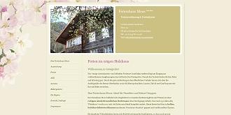 Referenz responsive webdesign netfuchs gmbh, Interlaken: www.ferienhaus-moos.ch
