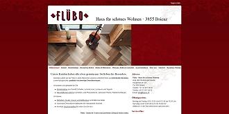 Referenz CMS Webdesign netfuchs gmbh, Interlaken: www.fluebo.ch
