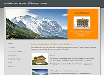 Referenz responsive Webdesign netfuchs gmbh in Interlaken: www.kammer-architektur.ch