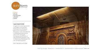 Referenz Webdesign netfuchs gmbh: Lichtform AG, Wilderswil