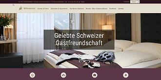 Referenz Webdesign Interlaken: www.lotschberg.ch
