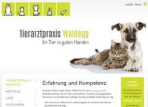Referenz Webdesign netfuchs gmbh: Tierarztpraxis Waldegg, Interlaken