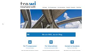 Referenz Webdesign Interlaken: www.trewi.ch